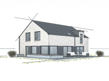 Modernes Satteldachhaus in Kastorf
