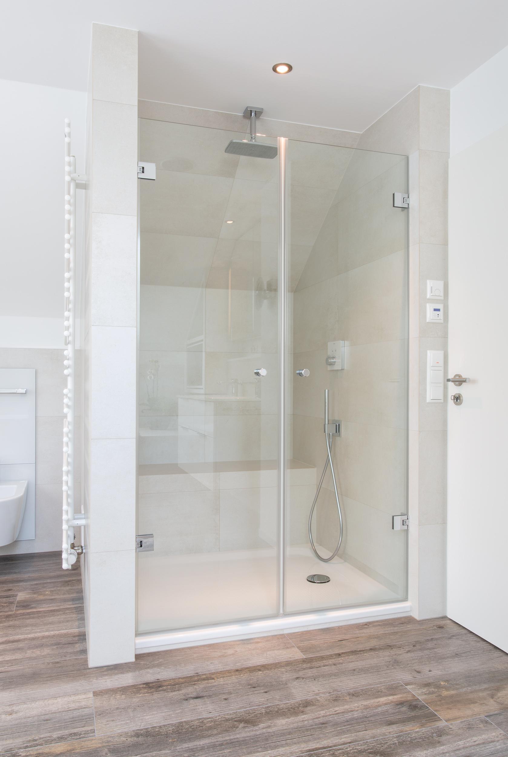 Luxuriöse Dusche