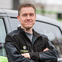 Kundendiensttechniker Martin Platt