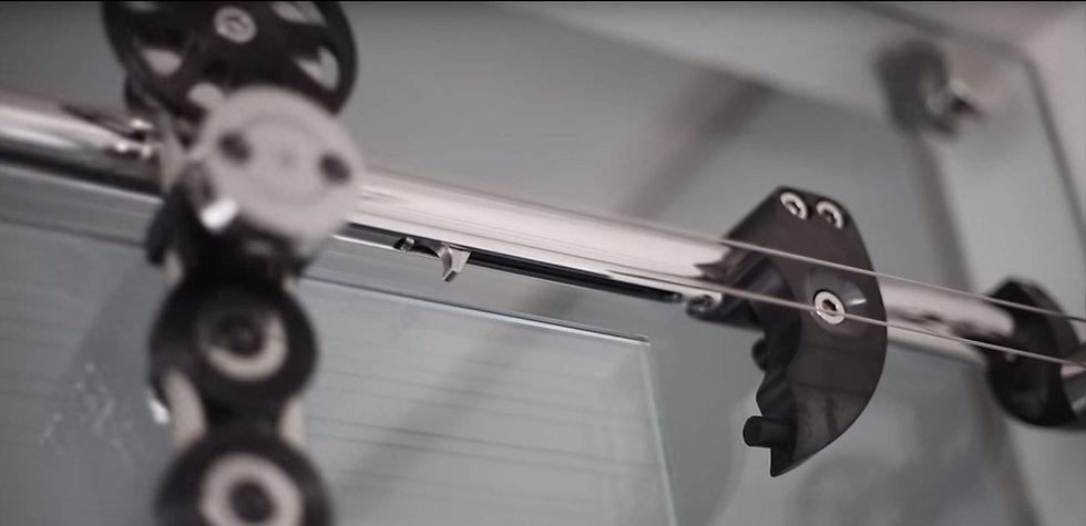Soft Stop Technik beim Schiebetürsystem Spider von MWE