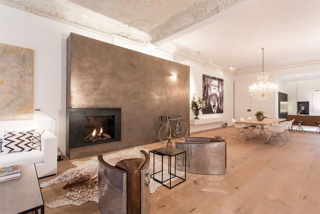 Berliner Penthouse Wohnbereich