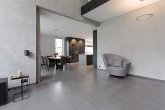 Giebelhausvilla Wohnzimmer