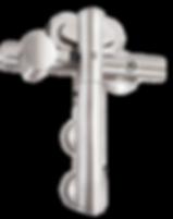 MWE Edelstahlmanufaktur Premium Schiebetürsystem Vario