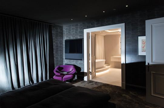 Altbauvilla mit Alsterblick Schlafzimmer