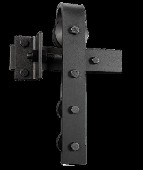 Schiebetürsystem Stahlbeschlag von MWE Edelstahlmanufaktur
