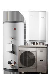 Split-Luft-Wasser-Wärmepumpe