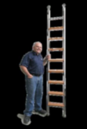 MWE Edelstahlmanufaktur - fertige Leiter