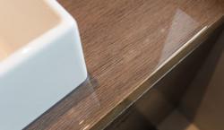 Designer Waschtisch im Detail