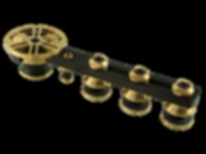 Schiebetürsystem Chronos in der Premium Edition Bicolor von MWE Edelstahlmanufaktur
