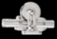 MWE Edelstahlmanufaktur Schiebetürsystem Supra