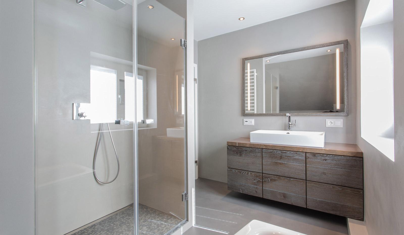 Designer Badezimmer zum Wohlfühlen