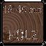 Mögliches Material und Stärke des Türblatts: Holz 19-45mm