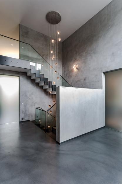 Giebelhausvilla Treppe