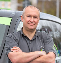 Kundendiensttechniker Jörg Dammann