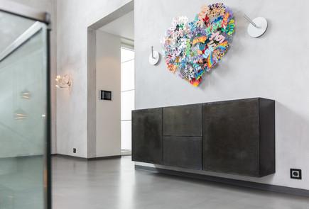 Moderne Giebelhausvilla Regal