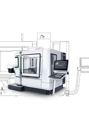 Technik vom feinsten: der DMC 850 V, das neue Highliht in der MWE Edelstahlmanufaktur