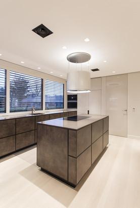 Upperclass Bauhausvilla Küche