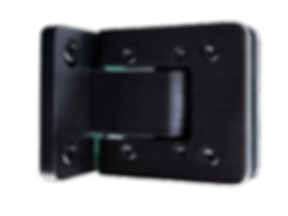 Drehtürsystem Agitus L von MWE Edelstahlmanufaktur Black Edition