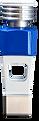 Individualisierte Spielfigur in der Farbe blau.