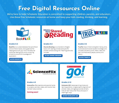 Scholastic Digital Resources