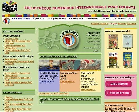 Bibliothèque numérique internationale des enfants