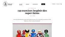 ViFa - Exercices inspirés de super-héros