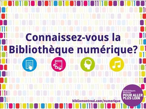 Livres numériques des Bibliothèques de Montréal