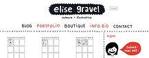 Elise Gravel - BD et coloriages