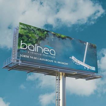 Balnea Billboard Design