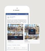 Cogir Facebook Carousel Ad