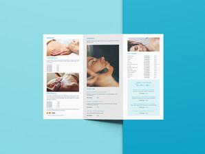 Balnea Menu Tri-Fold