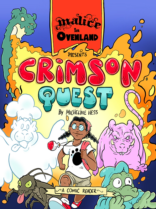 Crimson Quest - An Ovenland Reader