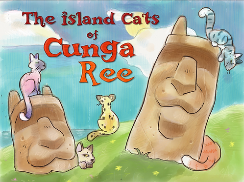 The Island Cats of Cunga Ree - Children's Book
