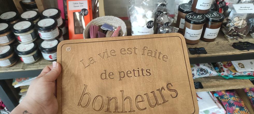 "Plateau ""bonheur"""