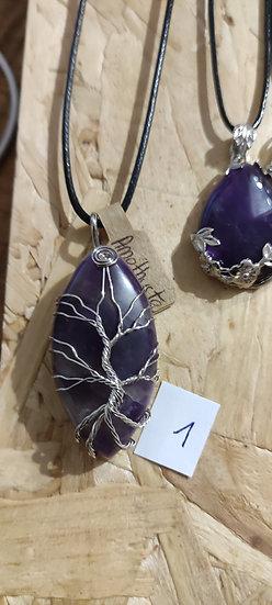 Collier pierre naturelle