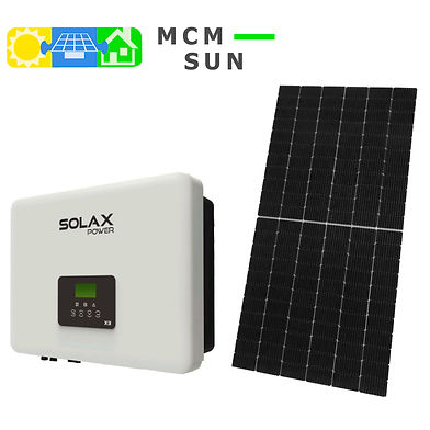 panele Jinko Solar falownik Solax