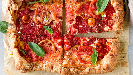 Southern Tomato Galette