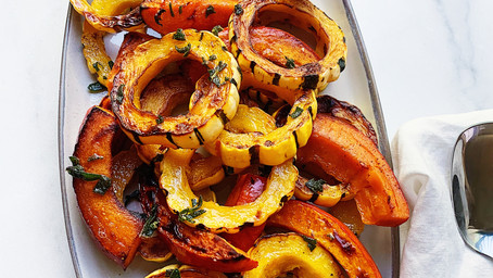 Delicata & Red Kuri Squash with Sage-Brown Butter
