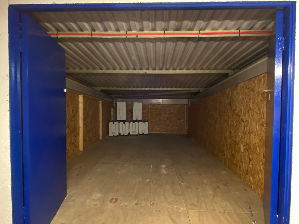 10 x 15ft First Floor Inside Self Storage Unit at David Bletsoe-Brown Self Storage in Kettering, Northamptonshire