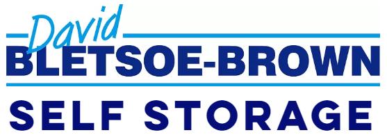Logo of David Bletsoe-Brown Self Storage in Kettering, Northamptonshire
