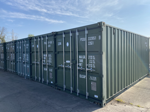 20ft Container Storage Unit at David Bletsoe-Brown Self Storage in Kettering, Northamptonshire