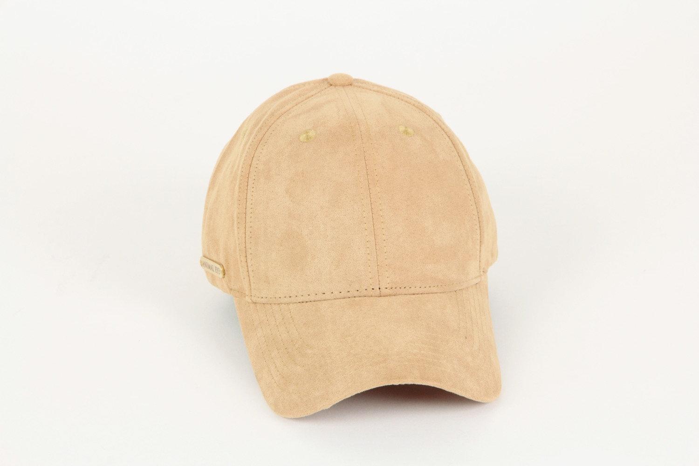 000618f159fbcc Luxury Suede Baseball Cap -Light Brown | websiteanimaleyemain