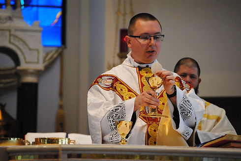 Keeton First Mass.JPG