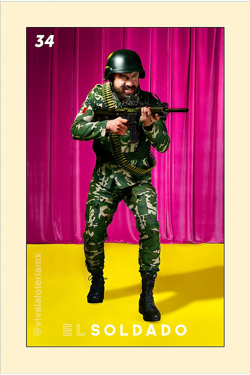 34. El Soldado