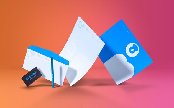 BLONDE+CO CREATIVE AGENCY rebrand