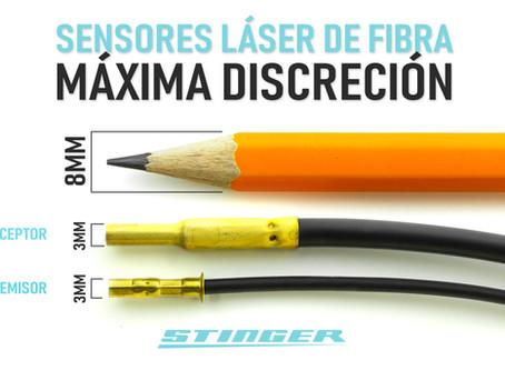 Máxima discreción con los nuevos sensores láser HD de Stinger