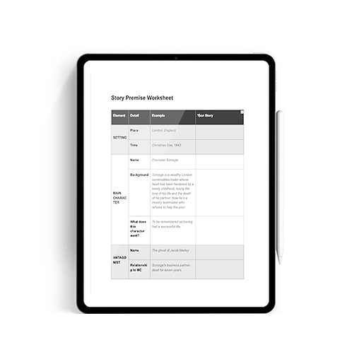 Story Premise Worksheet
