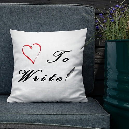 Love To Write - Throw Pillows