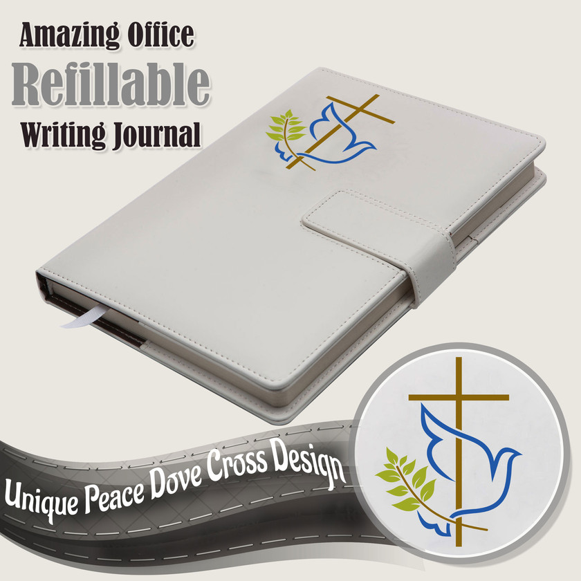 The Dove Cross Refillable Writing Journal