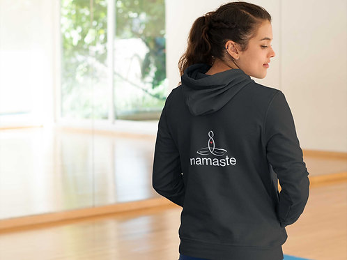 The Namaste Meditator Hoodie - Great mindful gift - from Mindful Designs